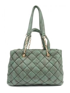 3c97bb9c7b69 Buy Nyls Quilted Handbag with Metal Link Chain Quilted Handbags