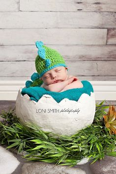 Hey, I found this really awesome Etsy listing at http://www.etsy.com/listing/124543027/dinosaur-hat-spring-green-turqua-child