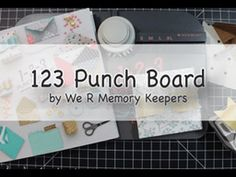 1-2-3 Punch Board Window Gift Box by We R Memory Keepers - YouTube