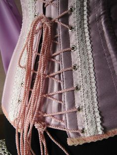 Rapunzel Corset COSPLAY custom made (with or without sleeves). $165.00, via Etsy.