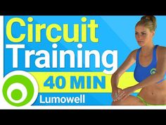 Circuit Training to Lose Weight and Tone Your Body - 40 Minute Full Body Workout - YouTube