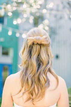 Bows hair!