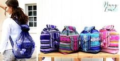 Mexican Blanket Backpacks - 11 Styles - $16.99! - http://www.pinchingyourpennies.com/mexican-blanket-backpacks-11-styles-16-99/ #Blanketbackpacks, #Jane