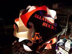 Alatoona Bucks Puzzle Lamp by GetLightMe on Etsy