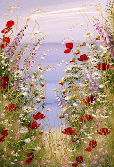 Blumenwiese Blumenwiese The post Blumenwiese appeared first on Blumen ideen. Blumenwiese Blumenwiese The post Blumenwiese appeared first on Blumen ideen. Arte Floral, Garden Painting, Garden Art, Oil Painting Flowers, Flower Paintings, Watercolor Flowers, Meadow Flowers, Wild Flowers, Home Flowers