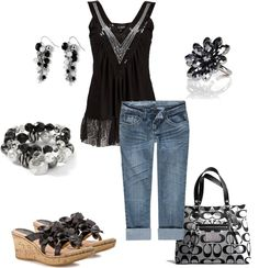 """""""Summer short outfit"""" by patti85 on Polyvore"""
