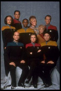 Star Trek Voyager (pre-Seven-of-Nine, while it was still good)