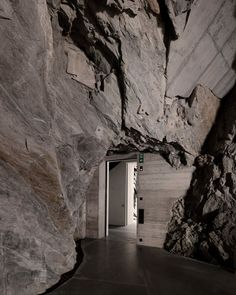 Muzeum Susch, designed by Zurich based architecture firm Voellmy Schmidlin Architektur, opens to the public in Switzerland's Engadin valley Cultural Architecture, Concept Architecture, Interior Architecture, Interior And Exterior, Alpine Chalet, Das Hotel, Art Station, Global Art, View Photos