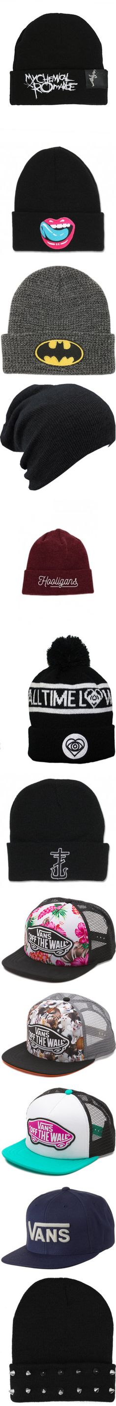 """""""Hats & Beanies"""" by ally-770 ❤ liked on Polyvore"""