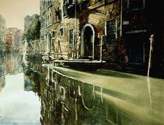 Paul Dmoch   Rio dei Santi Apostoli (Ponte San Canzian) à Venise, Italie