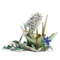 """Hyacinth"". Handbuild, glazed stoneware. Mindcraft 2014."
