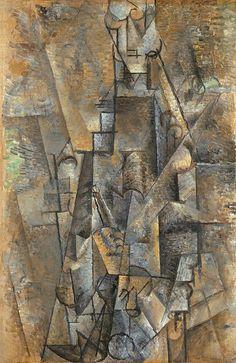 """Picasso, """"Hombre con clarinete"""", 1911"""