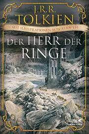 15.10.2016 | J. R. R. Tolkien | Der Herr der Ringe | Hobbit-Presse Klett-Cotta || Diese wunderschöne Ausgabe zum 125. Geburtstag Tolkiens am 3. Januar 2017 enthält fünfzig Illustrationen von Alan Lee, dem Künstler, dessen Vorstellungskraft in überwältigender Weise mit der Tolkiens übereinstimmt. Alan Lees Bilder haben ganz maßgeblich die Ästhetik der Herr-der-Ringe-Filme geprägt.