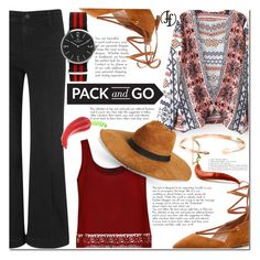 """Pack and Go: Mexico City"" by ladybug-100 ❤ liked on Polyvore featuring AG Adriano Goldschmied, Ally Fashion, Steven by Steve Madden, Amici Accessories, mexico, polyvorecontest, Packandgo and francoflorenzi"