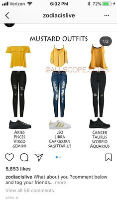 zodiac signs as teenagers outfits * zodiac signs as teenagers - zodiac signs as teenagers outfits - zodiac signs teenagers Zodiac Signs Chart, Zodiac Signs Sagittarius, Zodiac Star Signs, Taurus Horoscope, Zodiac Facts, Teen Fashion Outfits, Outfits For Teens, Trendy Outfits, Zodiac Clothes