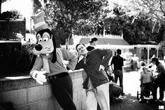 Goofy and Walt