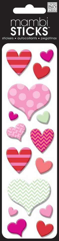 Puffy stickers add dimension and fun to any project. So easy to use. Just peel…