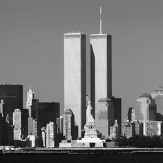 On this day in 1973, the #TwinTowers of the #WorldTradeCenter opened in NYC via @newyorkloveny - The Best Photos and Videos of New York City including the Statue of Liberty, Brooklyn Bridge, Central Park, Empire State Building, Chrysler Building and other popular New York places and attractions.