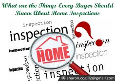 What are the Things Buyers should check out?...sharon.cogill2@gmail.com #What, #Buyers,  #check out