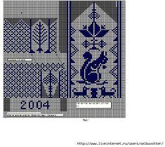 красивые узоры для варежек спицами схемы: 26 тыс изображений найдено в Яндекс.Картинках
