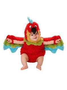 Just Pretend Parrot Romper Costume