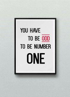 Being odd