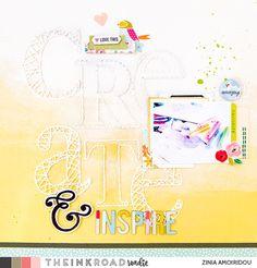 Create & Inspire by zinia at @studio_calico