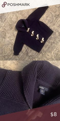 Military TOGGLE BUTTON BLACK WOVEN COTTON THREAD OVER WOOD with LOOP