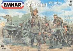 German WWI Artillery