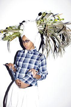 misterand:  Erykah Badu | Kenneth Cappello  <3
