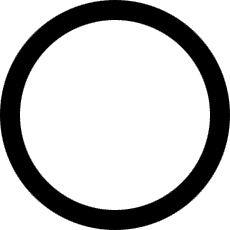 CIRKEL (heilige ring): een oud en universeel symbool van eenheid, heel- heid, oneindigheid, de godin en vrouwelijke kracht. Voor religies die zich op de aarde richten doorheen de hele geschiedenis, zowel als voor vele heden- daagse heidenen/paganisten, vertegenwoordigt de cirkel de vrouwelijke geest van kracht, de kosmos of een vergeestelijkte Moeder Aarde, en een heilige ruimte.