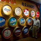 Coors Brewery tour.