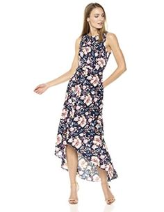 Shop a great selection of Nicole Miller New York Women's High Low Maxi Dress Back Cut Out. Find new offer and Similar products for Nicole Miller New York Women's High Low Maxi Dress Back Cut Out. Nice Dresses, Summer Dresses, Summer Fashion Trends, Nicole Miller, Dress Backs, Fashion Dresses, Beauty, High Low, Clothes