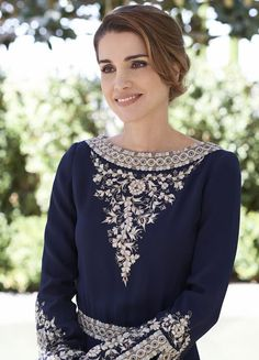 Queen Rania of Jordan new official portraits