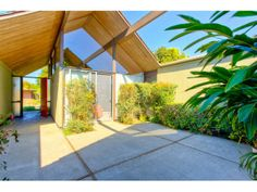1674 CLAY DR, Los Altos, CA - MLS 81237084 - Loved this house on House Hunter! Gorgeous Atrium Eichler surrounded by gardens & lots of windows. Lots Of Windows, Atrium, Midcentury Modern, Acre, The Neighbourhood, Sidewalk, Stairs, Mid Century, Clay