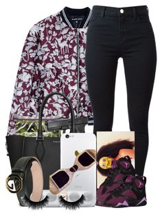 """""""Infinite ♨"""" by dashaye-2013 ❤ liked on Polyvore featuring Markus Lupfer, Michael Kors, J Brand, Beats by Dr. Dre and Gucci"""