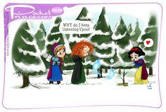Pocket princess #85  Frozen, AGAIN!!!