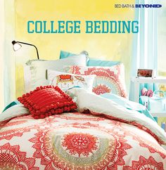 We've got ultra comfy bedding in hundreds of styles for everyone from incoming freshmen to grad students. Whether you're into bright patterns or solid neutrals, we've got it. Find your bedding with us today.