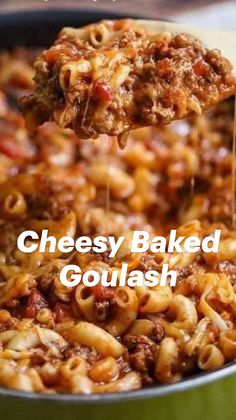 Easy Goulash Recipes, Beef Casserole Recipes, Healthy Crockpot Recipes, Healthy Dinner Recipes, Cooking Recipes, Recipes For Casseroles, Best Food Recipes, Comfort Food Recipes, Best Dinner Recipes Ever