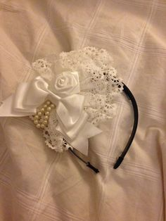IW white headdress « Lace Market: Lolita Fashion Sales and Auctions