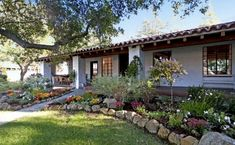 """The """"It's Complicated"""" hacienda...a view of the porch. Oh, how I would love to live here!"""