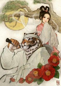 한복 hanbok, Korean traditional clothes : 흑요석