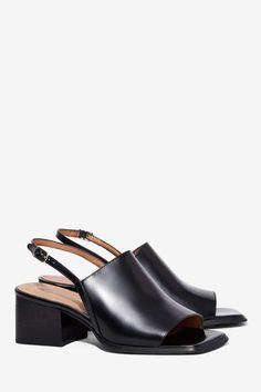 Jeffrey Campbell Loring Leather Sandal - Sandals