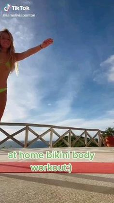 Summer Body Workouts, Full Body Hiit Workout, Gym Workout Videos, Gym Workout For Beginners, Fitness Workout For Women, Bikini Fitness, Bikini Workout, Body Fitness, Killer Workouts