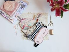 *** PLEASE NOTE! This listing is for a SEWING PATTERN, not actual lingerie. If you would like me to make you some lingerie, please visit my lingerie shop on Etsy! https://www.etsy.com/shop/ohhhlulu ***  The Ultimate Sleep Mask is a great starting point for new sewists while still being a fun and fulfilling project for those with more experience! Sew a classic satin sleep mask or have fun with a whimsical fox mask. While fold over elastic is suggested for the strap, any ela...