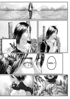 The Shiganshina Trio — Home. 📌 Note: Headcannon for post-rumbling IF. Attack On Titan Comic, Attack On Titan Fanart, Titan Manga, Avatar Azula, Mikasa X Eren, Roses Book, Uzumaki Boruto, Eremika, Bleach Anime
