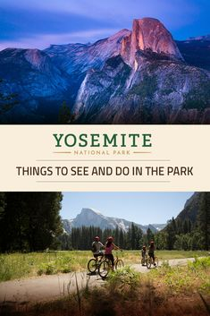 Planning a Yosemite National Park vacation? Learn more about what there is to do and see in the park!