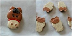 Adding leaves or ears even if your cookie cutter doesn't have them...easy!