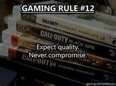 Gaming rule #12