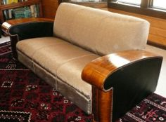 Art Deco Couch Sofa French c1920'S | eBay